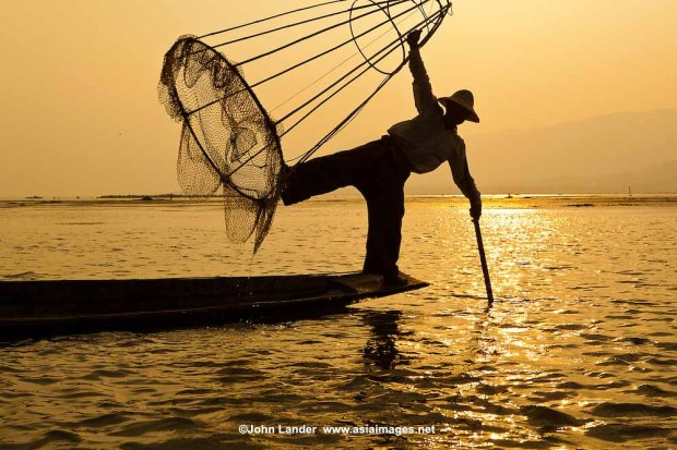 Intha Fisherman on Inle Lake myanmar must do