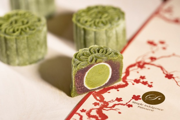 mooncake matcha azuki simple indulgence patisserie snow skin