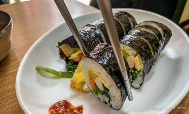 food in busan dingsleepy kimbap